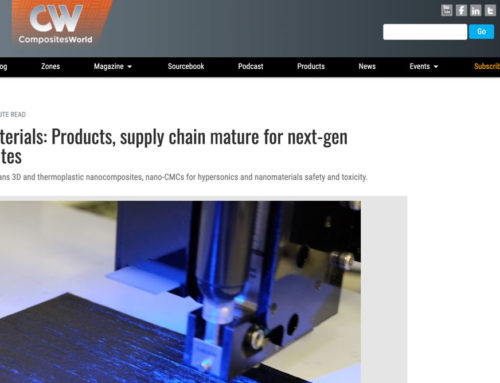 Nanomaterials: Products, supply chain mature for next-gen composites